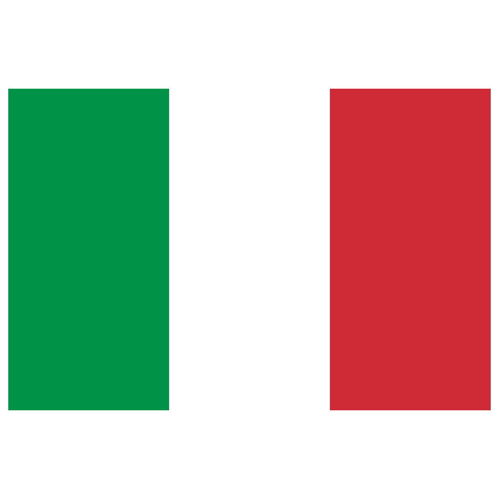 IT Italy Flag Icon.