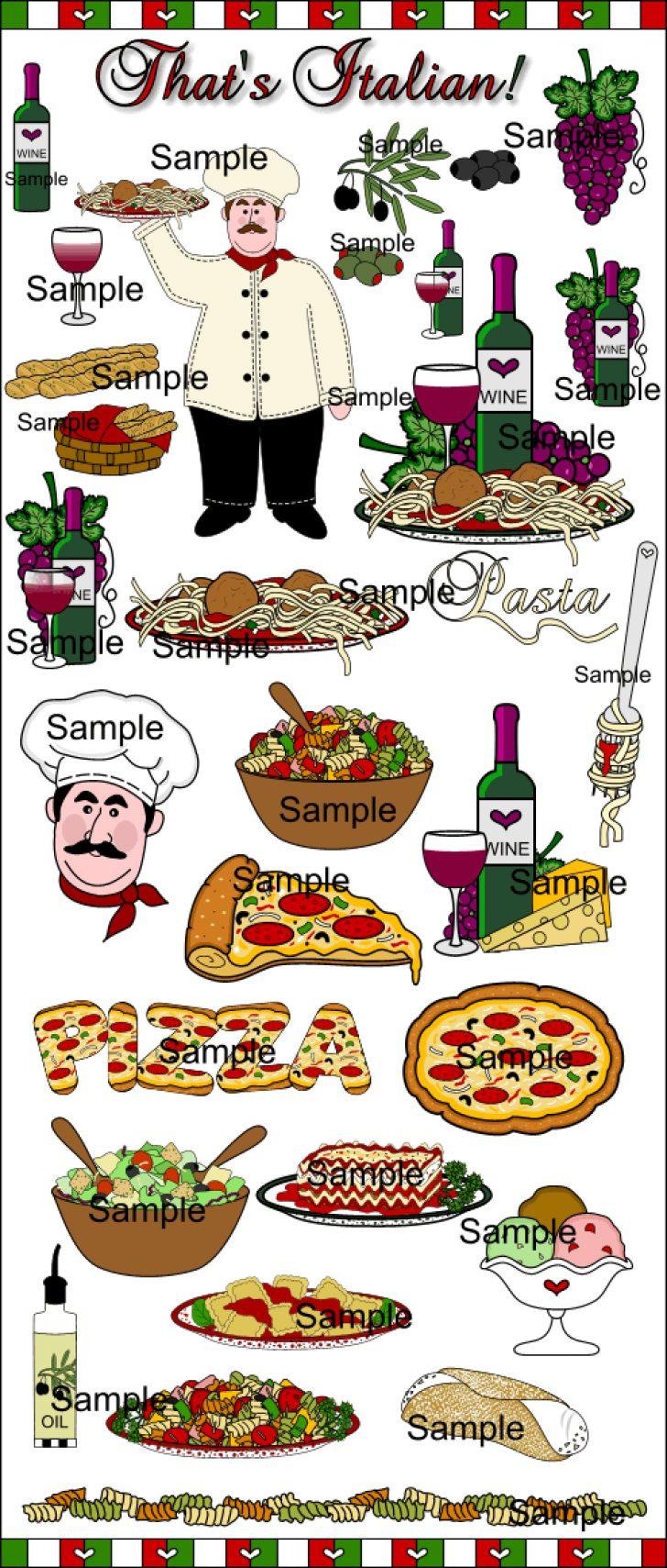 clip art free images italian food.