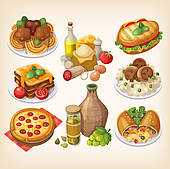 Italian food Illustrations and Stock Art. 4,903 italian food.