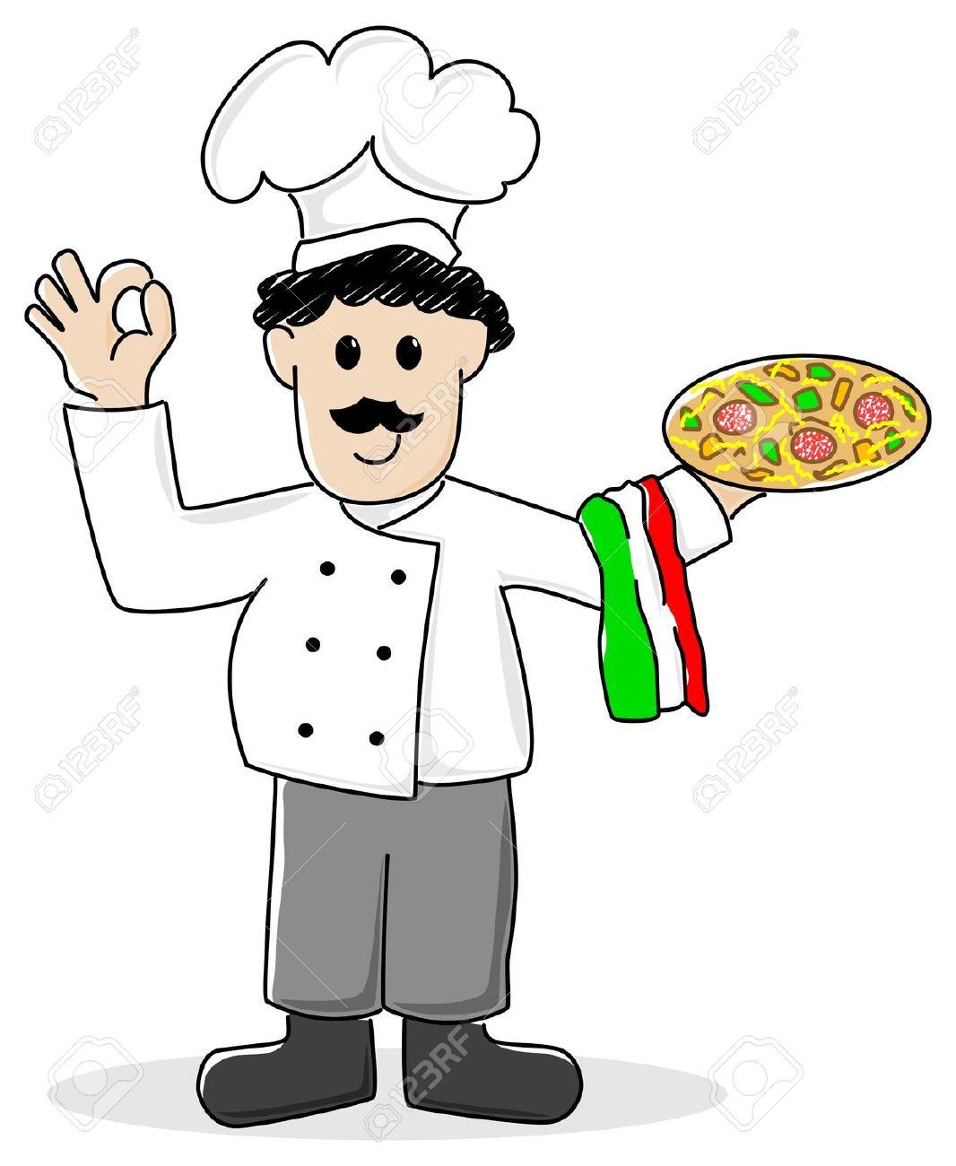 Italian People Clipart.