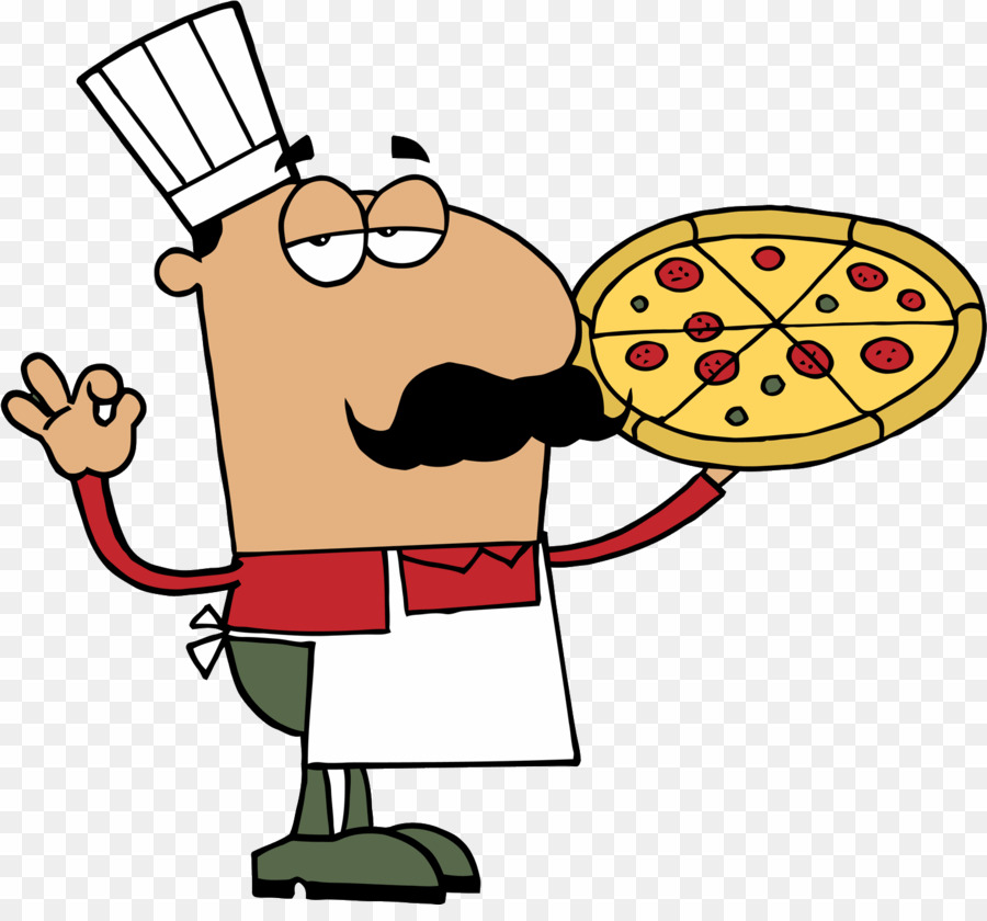 Cartoon Pizza Man PNG Pizza Italian Cuisine Clipart download.