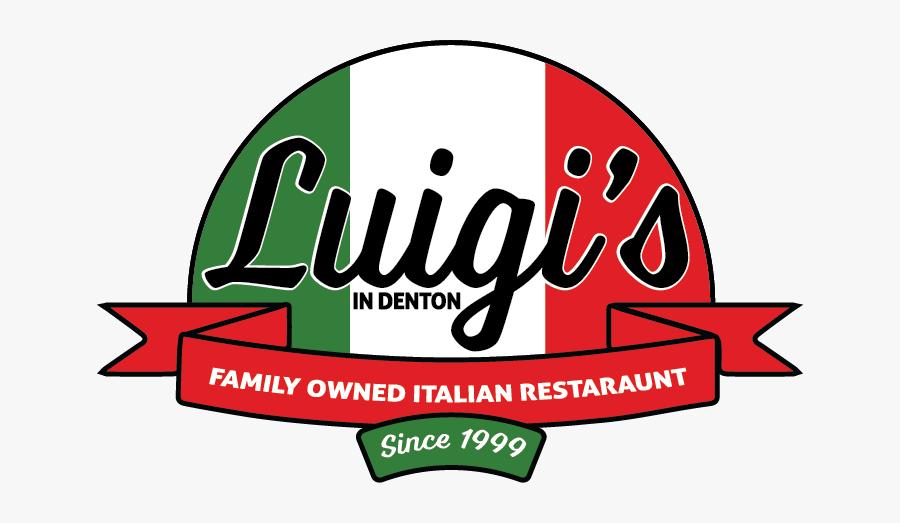 Luigis Italian Restaurant Menu , Free Transparent Clipart.