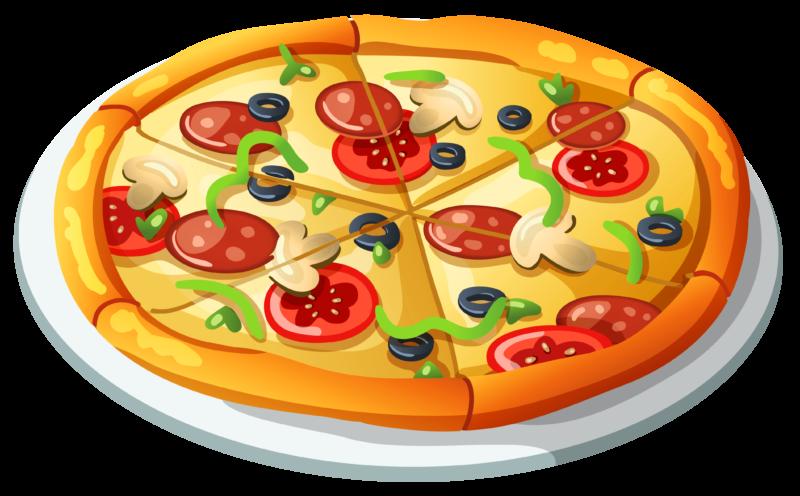 Italian clipart pizza piece, Italian pizza piece Transparent.