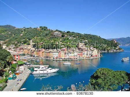 Italian Riviera Stock Photos, Royalty.