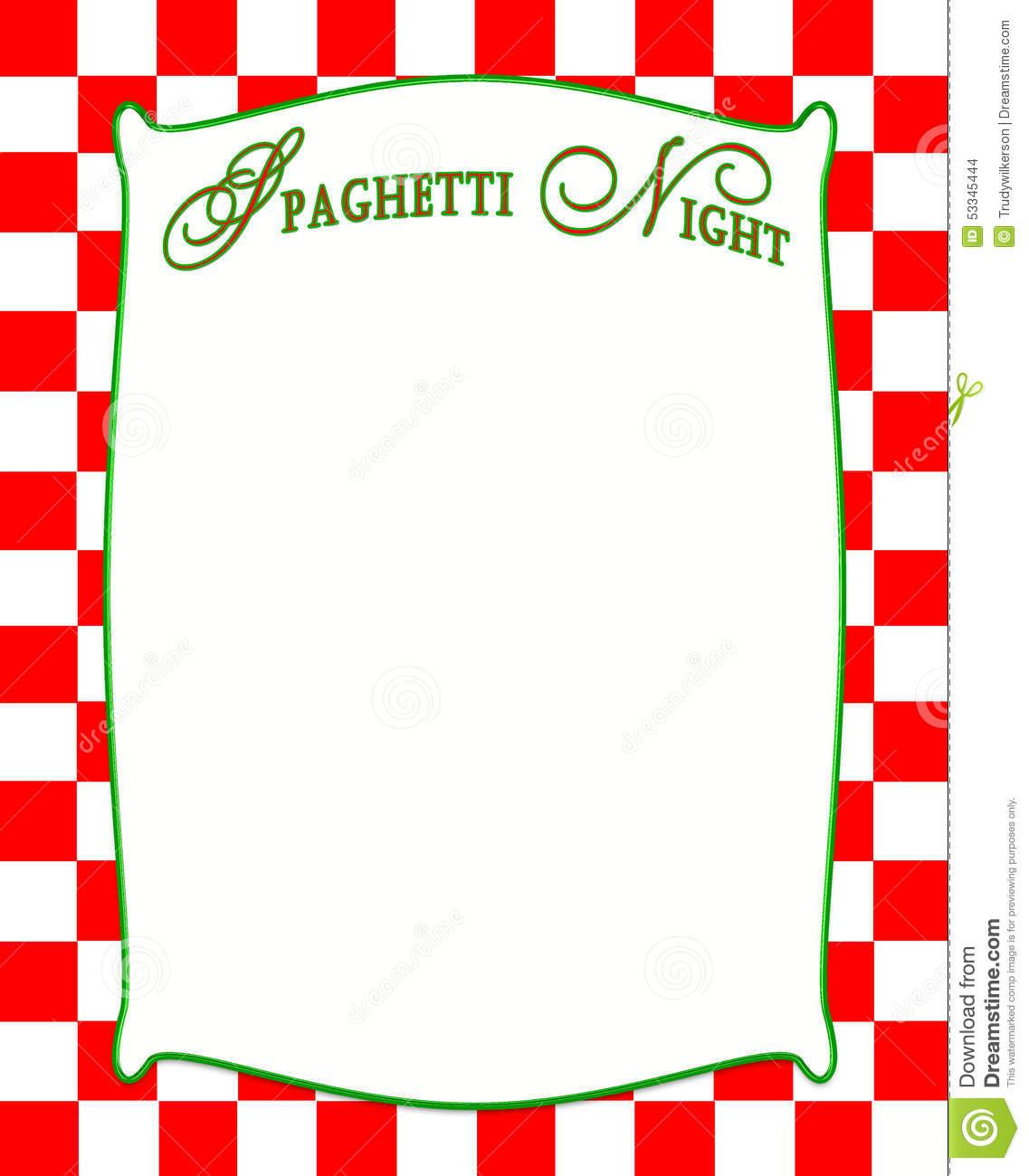 Italian menu border