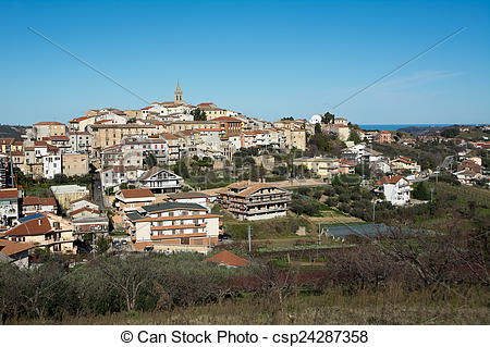 Stock Images of Italian village.