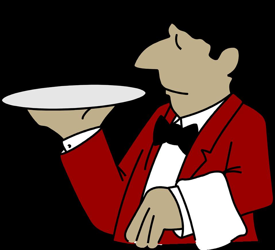 Italian clipart waiter italian, Italian waiter italian.