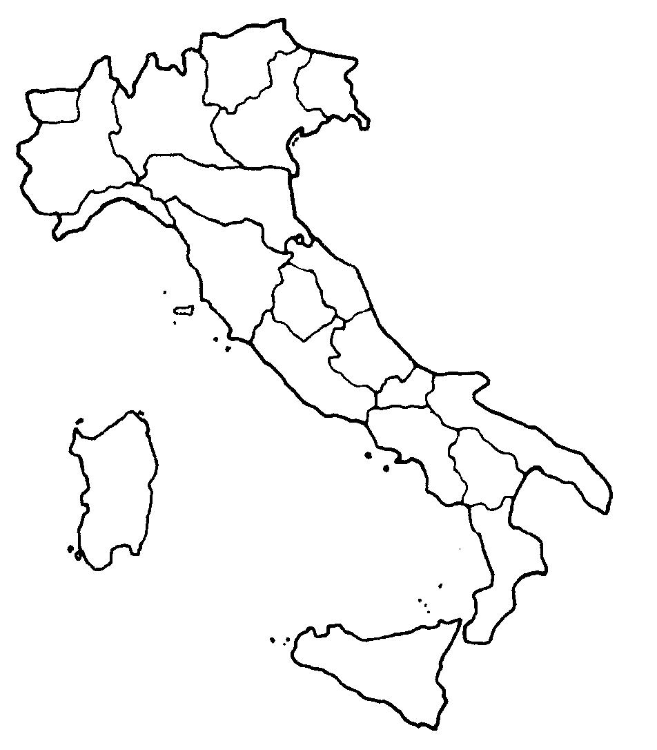 Clipart italia regioni.