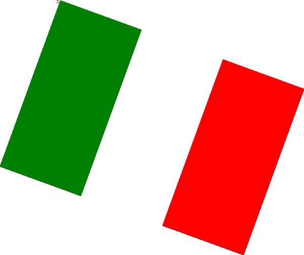 Italian Flag Clip Art at Clker.com.