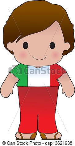 Vectors of Poppy Italian Boy.