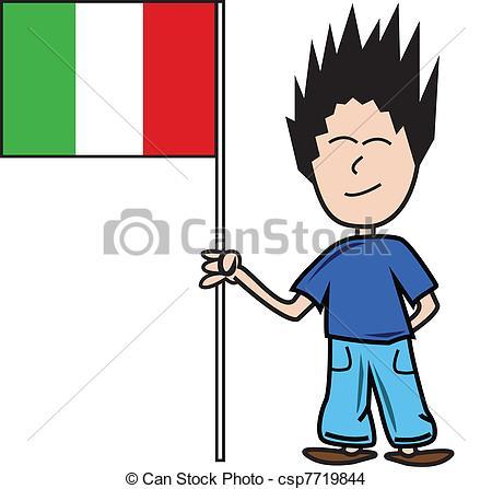 Clipart italiano.