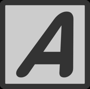 Text Italic Clip Art at Clker.com.