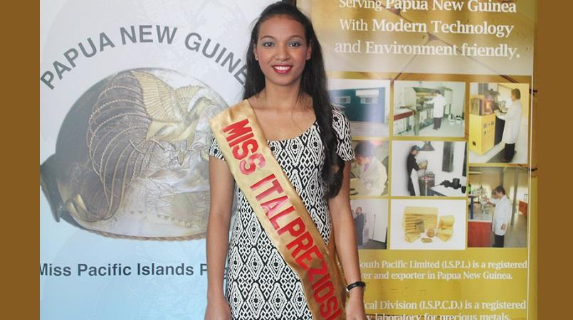 Pacific Islands Pageant PNG announces 3rd contestant.