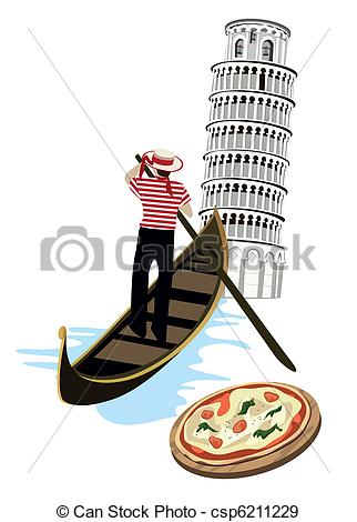 Gondola Vector Clipart Illustrations. 963 Gondola clip art vector.