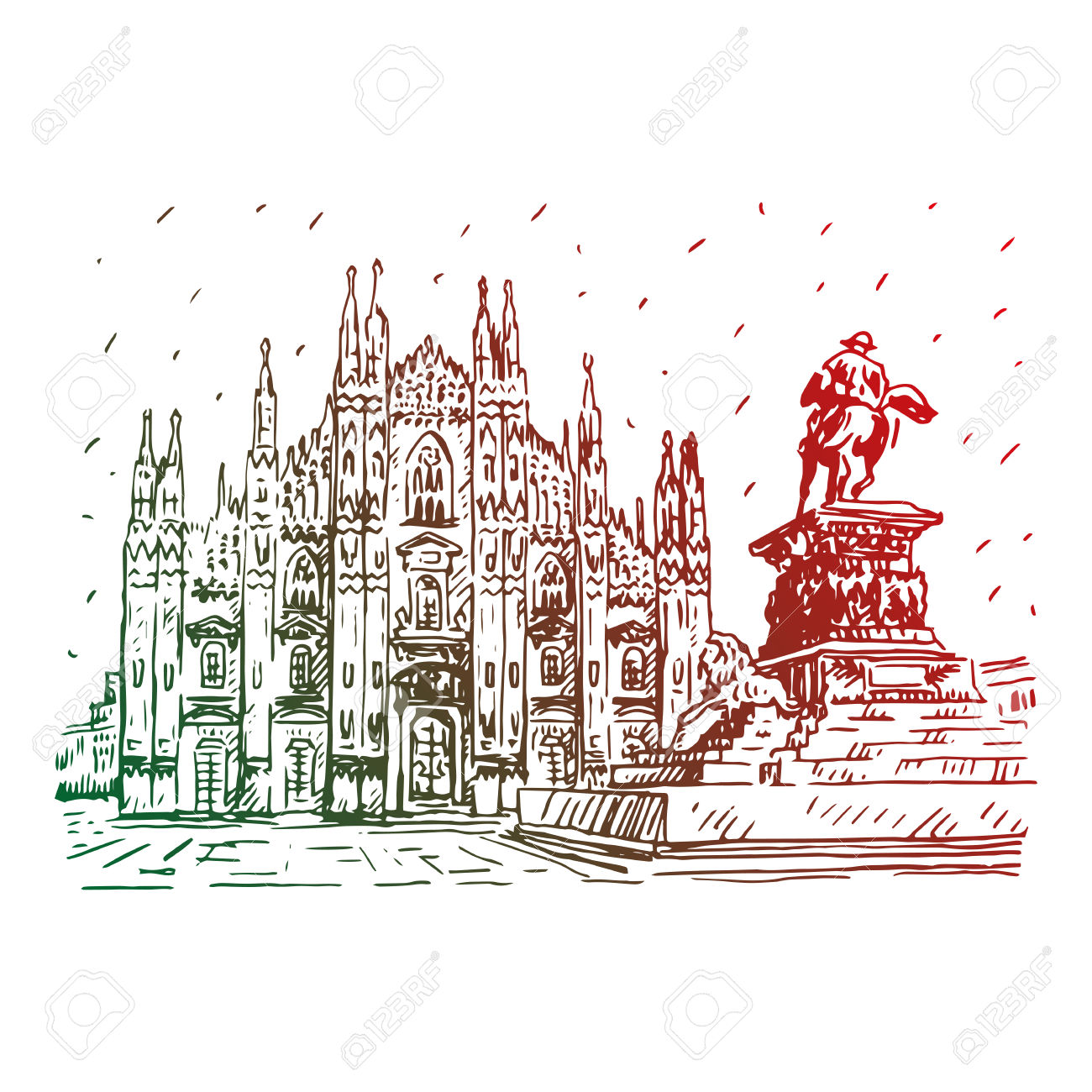 2,910 Italy Landscape Cliparts, Stock Vector And Royalty Free.