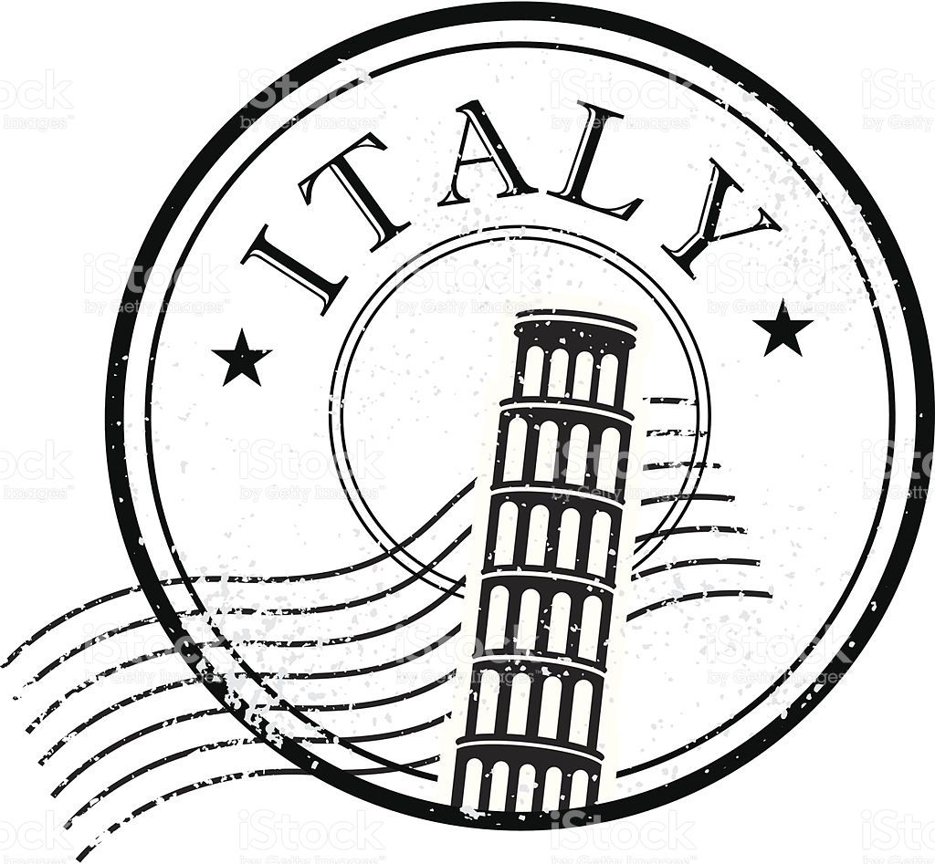 Image result for italy passport stamp.