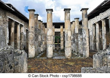 Pictures of Ancient roman columns.