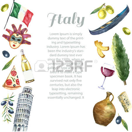 4,186 Italian Tourism Cliparts, Stock Vector And Royalty Free.