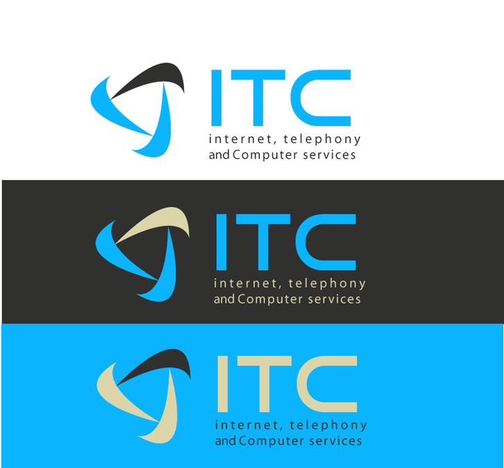 Clean and Crisp ITC logo.
