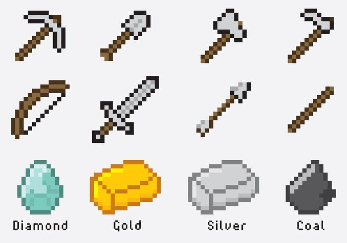 Minecraft Items.