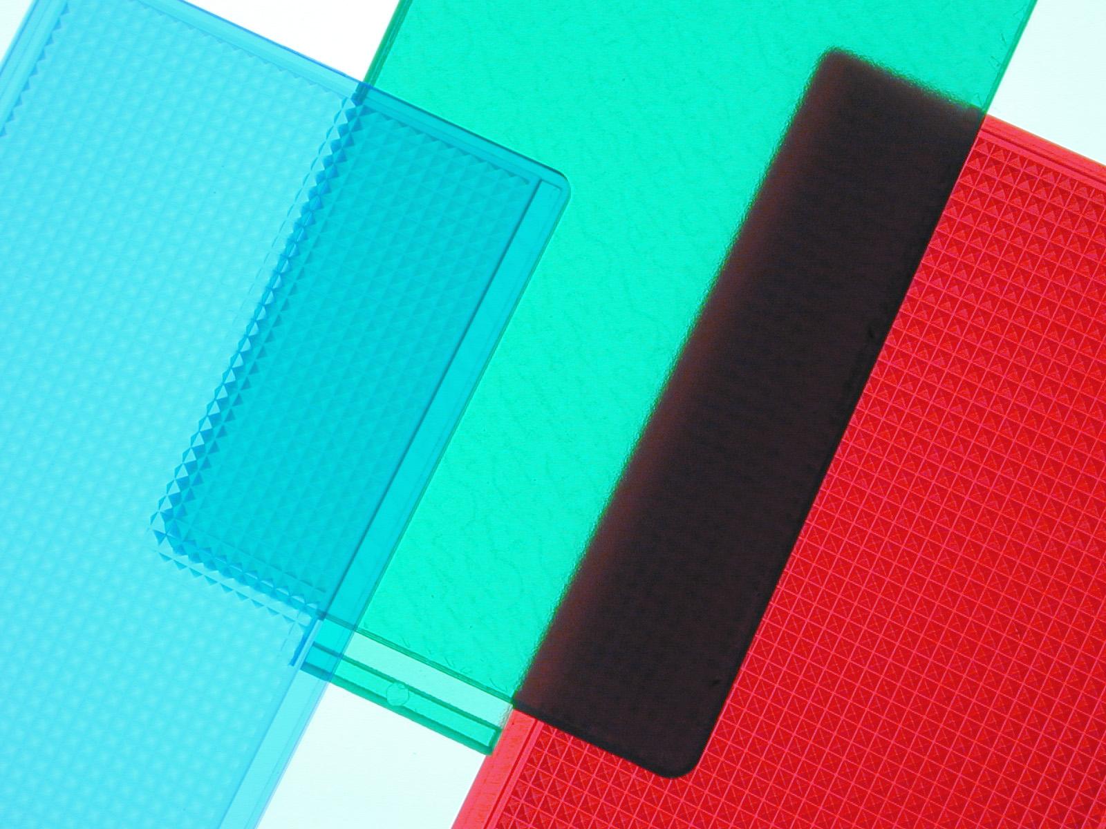 Transparent, Translucent, Opaque.