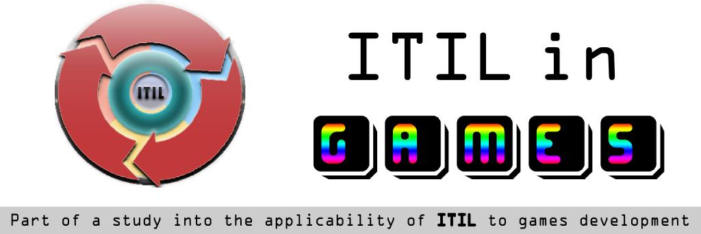 ITIL for games development.