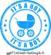 Its A Boy Clip Art.