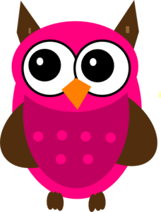 Its A Girl Owl Clipart.