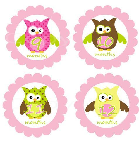 Owl Girl Clipart.