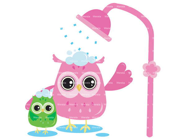 It's A Girl Owl Clipart.