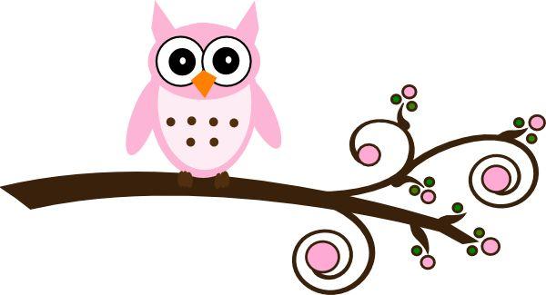 Free Baby Girl Owl Clip Art.