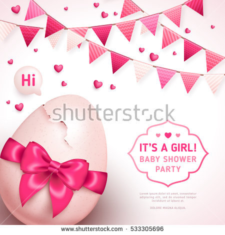Its A Girl Stock Images, Royalty.