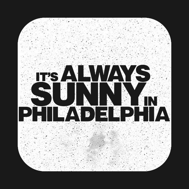 It\'s Always Sunny In Philadelphia Text Logo.