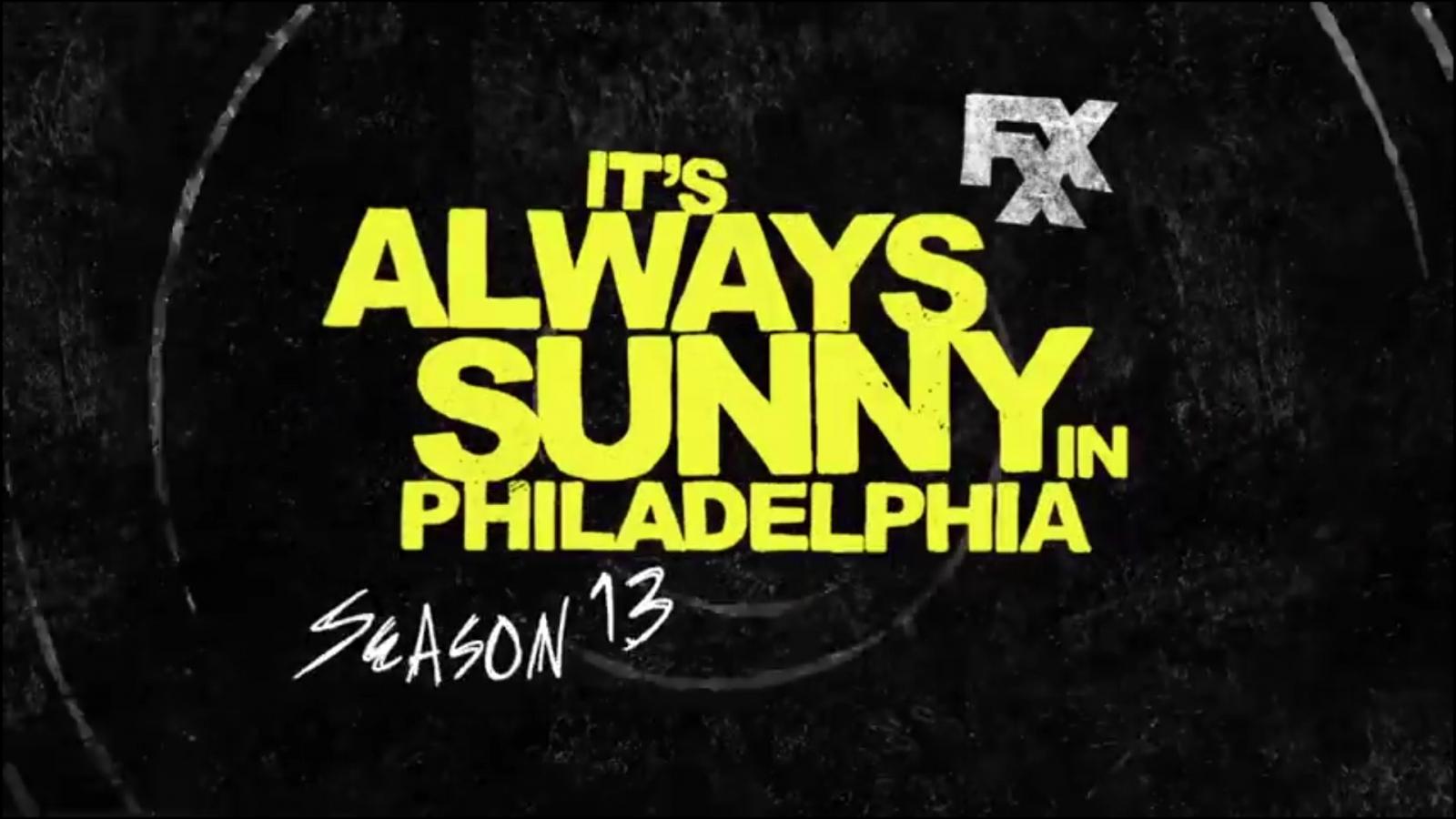 It\'s Always Sunny In Philadelphia Series 13.
