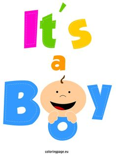 Clip Art Its A Boy.