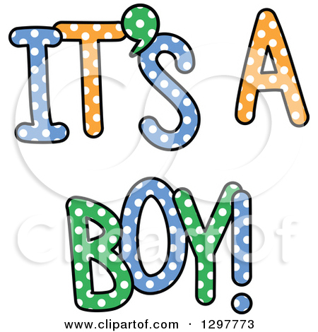 It's a boy clipart free.