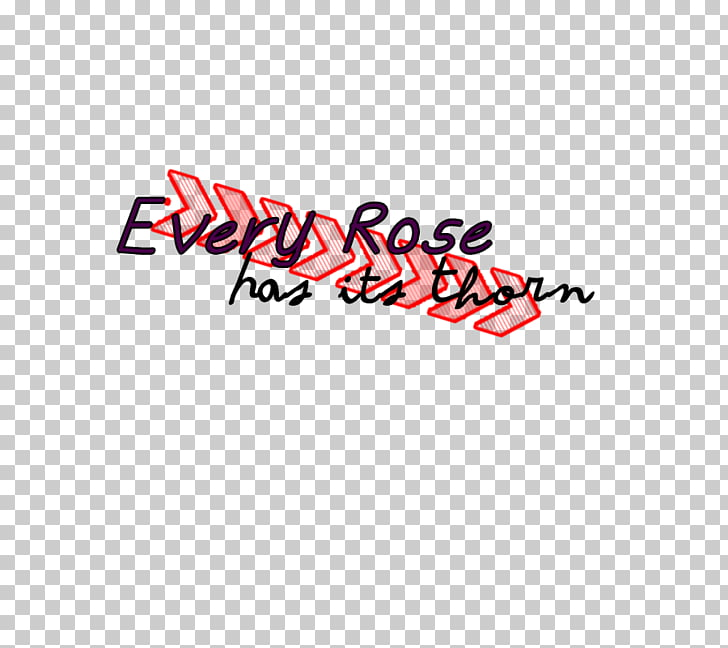 Every Rose Has its Thorn Text Logo, Rose Thorn PNG clipart.
