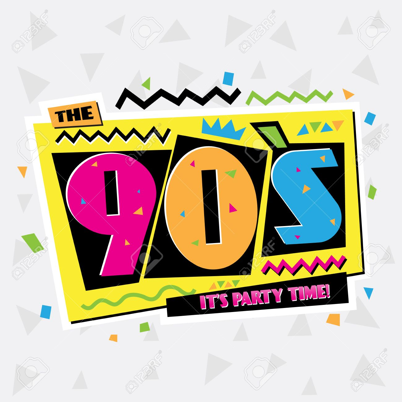 Its Party Time Clipart.