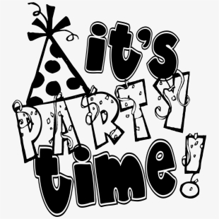 PNG Party Time Cliparts & Cartoons Free Download.