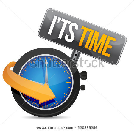 Its Time Stock Images, Royalty.