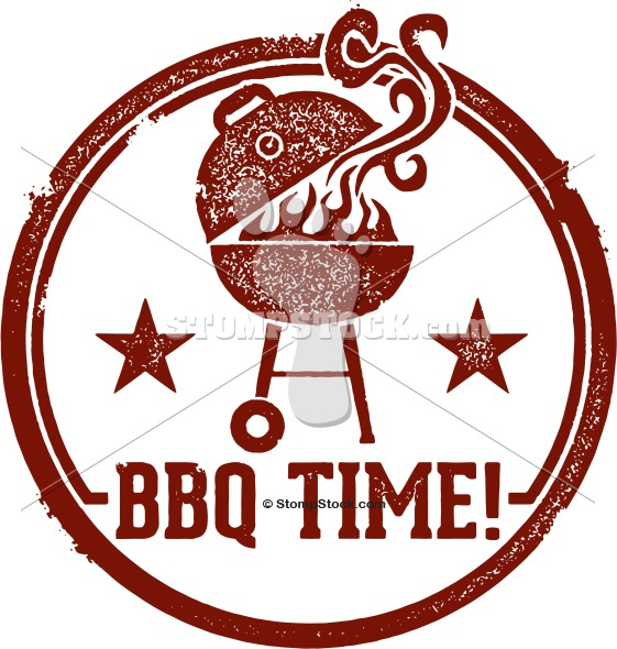 It's BBQ Time! Clipart.