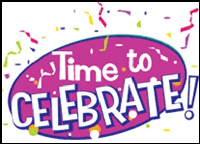 Celebration its time to celebrate clipart.