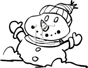 Carton_Snowman_Wearing_a_Hat_Gloves_and_a_Carrot_Nose_with_Its_Arms_Out_Royalty_Free_Clipart_Picture_101216.