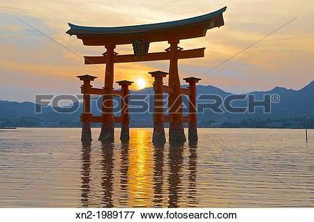 Picture of Itsukushima Shinto Shrine. Japan xn2.