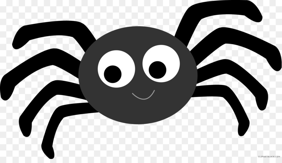 Cartoon Spider clipart.