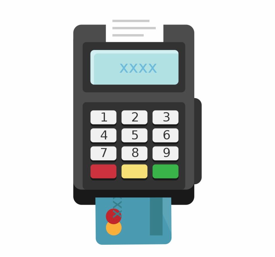 Credit Card Machine Clip Art.