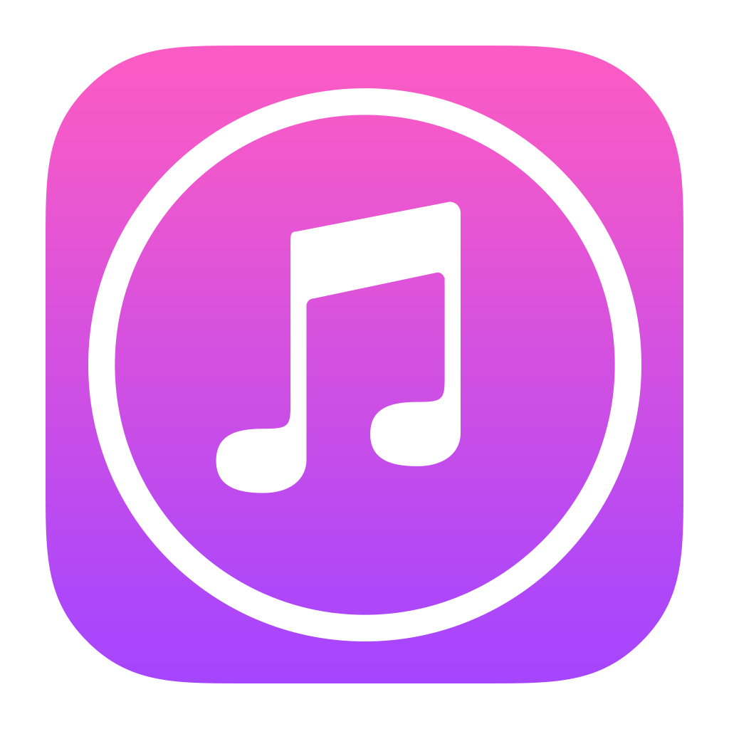 iTunes Store Icon PNG Image.
