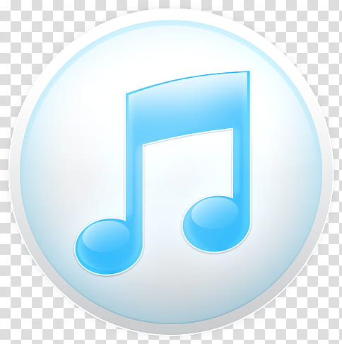 ITunes Soft, Music player logo icon transparent background.