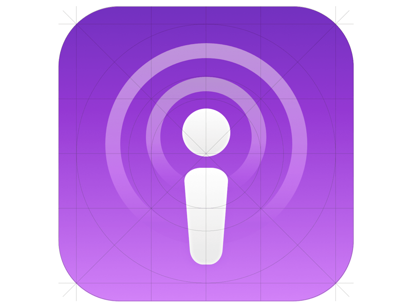 iTunes Podcast Logo.