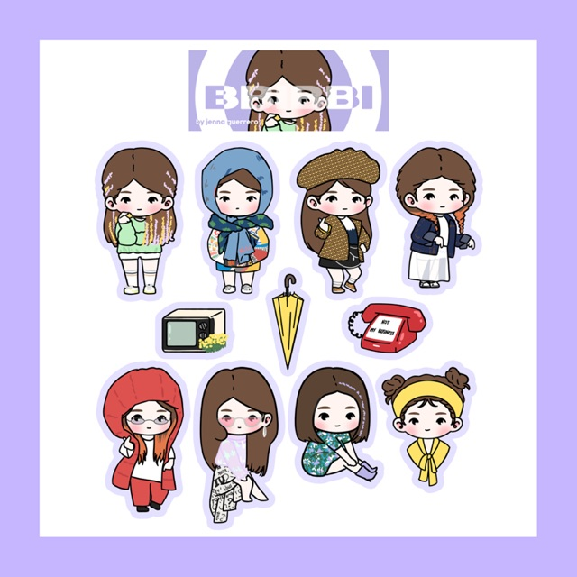 IU BBIBBI Sticker Pack.